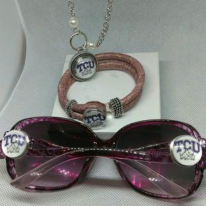 Accessories - TCU Ladies Sunglasses Set
